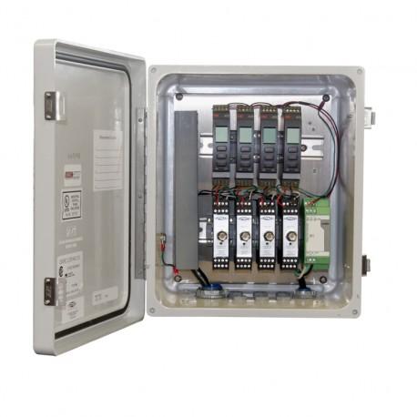 RXE150 széria rezgésvédelmi és relé rendszer 1-4 csatorna