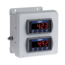 PMX1000 1-2 csatornás rezgésvédelmi és relé rendszer
