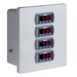 PMX1000 3-4 csatornás rezgésvédelmi és relé rendszer
