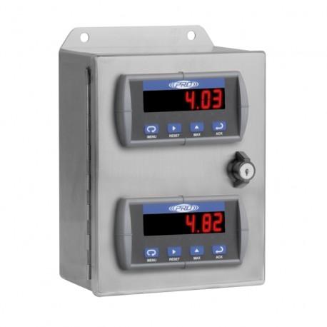 PMX2000 1-2 csatornás rezgésvédelmi és relé rendszer