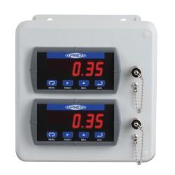 PMX3000 1-2 csatornás rezgésvédelmi és relé rendszer