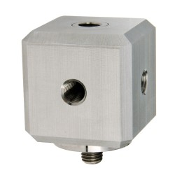 MH144-1A Triaxial mounting block with 1/4-28 captive bolt