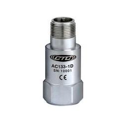 AC133 rezgésgyorsulás érzékelő: általános célú, alacsony frekvenciás, 500 mV/g, felső kivezetésű