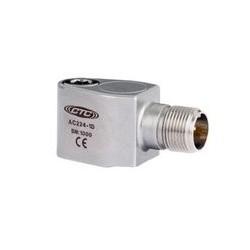 AC224 rezgésgyorsulás érzékelő: 10 mV/g érzékenység, kis méretű, nagy frekvenciás, oldalsó kivezetésű