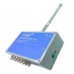 Sprite i400 - 4+4 csatorna, vezeték nélküli rezgés adatgyűjtő telepített rendszerekhez