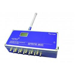 Sprite i800 - 8+8 csatorna, vezeték nélküli rezgés adatgyűjtő telepített rendszerekhez