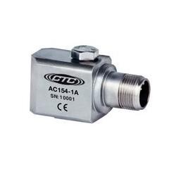 AC135 rezgésgyorsulás érzékelő: alacsony frekvenciás, 500 mV/g, felső kivezetésű