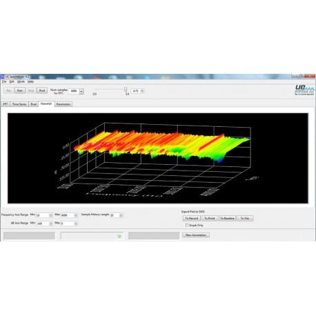 Spectralyzer - Ultrahangos Spektrum elemző szoftver