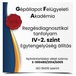 Egytengelyűség állítás -Rezgésdiagnosztika tanfolyam IV-2