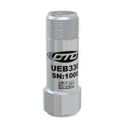 UEB330 - Ultrasound Sensor, 100mV/g, Top Exit