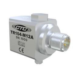 TR104-M12A - RTD Sensor, 100 mV/g,  side connector