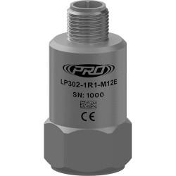 LP302-M12E loop power rezgésgyorsulás érzékelő és távadó: 4-20 mA, felső kivezetésű 4 Pin-es M12-es csatlakozó
