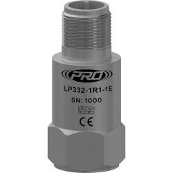 LP332 loop power hőmérséklet, rezgésgyorsulás érzékelő és távadó: 4-20 mA és 10 mV/°C kimenetű, felső kivezetésű