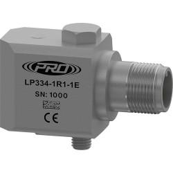 LP334 loop power hőmérséklet, rezgésgyorsulás érzékelő és távadó: 4-20 mA és 10 mV/°C kimenetű, oldalsó kivezetésű