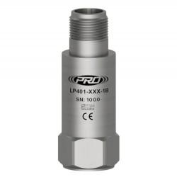 LP401 loop power rezgéssebesség, dinamikus rezgéssebesség érzékelő és távadó: 4-20 mA, felső kivezetésű