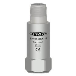 LP404 loop power rezgésgyorsulás, dinamikus rezgésgyorsulás érzékelő és távadó: 4-20 mA, felső kivezetésű