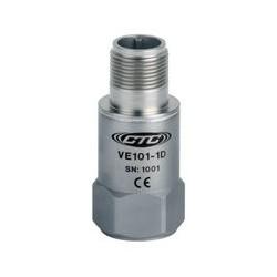 VE101 általános célú rezgéssebesség érzékelő: 4mV/mm/sec érzékenység, felső kivezetésű