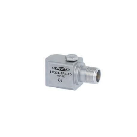LP204 loop power rezgéssebesség érzékelő és távadó: 4-20 mA, oldalsó kivezetésű
